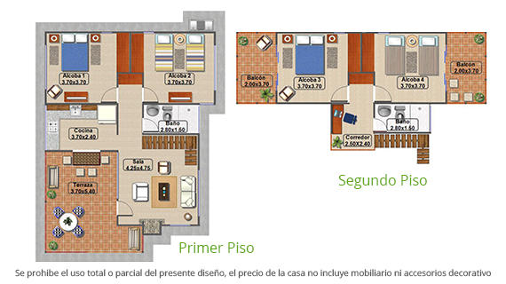 casa-tipo-4-parcelacion-el-carmelo-plano